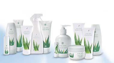 La gamme de produits Aloe Vera